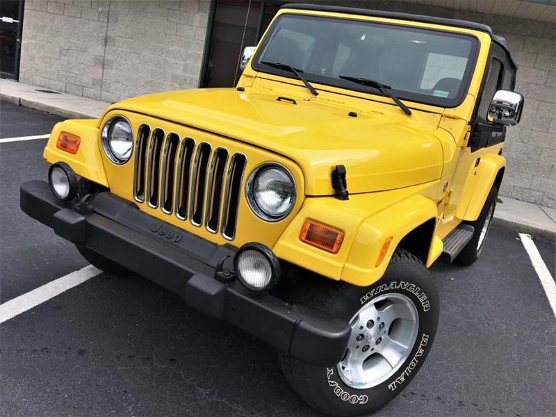 2002 Jeep Wrangler For Sale At Fisher Motor Group In Sarasota FL