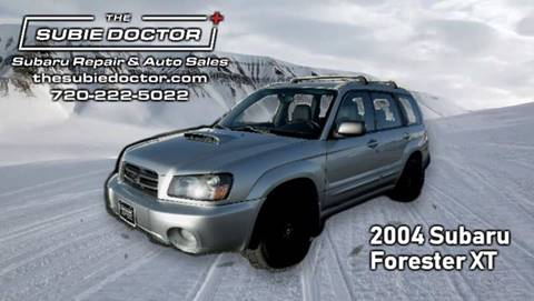 2004 Subaru Forester for sale at The Subie Doctor in Denver CO