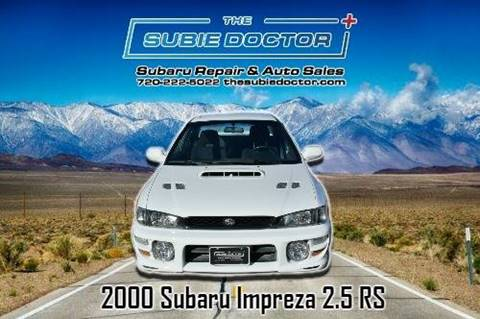 2000 Subaru Impreza for sale at The Subie Doctor in Denver CO