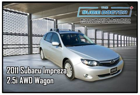 2011 Subaru Impreza for sale at The Subie Doctor in Denver CO