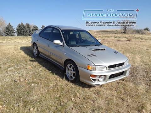 2001 Subaru Impreza for sale at The Subie Doctor in Denver CO