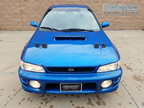 1999 Subaru Impreza for sale at The Subie Doctor in Denver CO