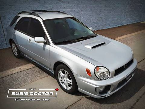 2002 Subaru Impreza for sale at The Subie Doctor in Denver CO