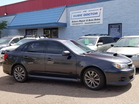 2009 Subaru Impreza for sale at The Subie Doctor in Denver CO