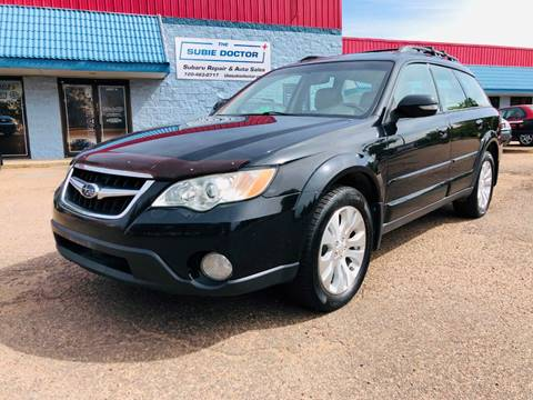 2008 Subaru Outback for sale at The Subie Doctor in Denver CO