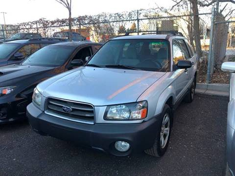 2003 Subaru Forester for sale at The Subie Doctor in Denver CO