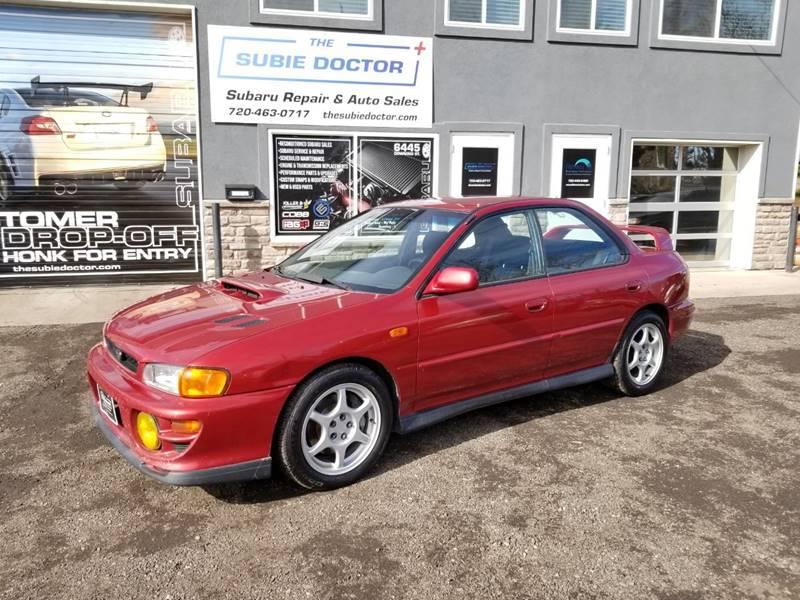 2000 Subaru Impreza for sale at The Subie Doctor in Denver CO