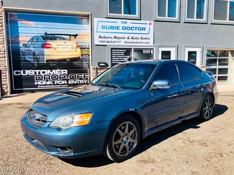 2005 Subaru Legacy for sale at The Subie Doctor in Denver CO