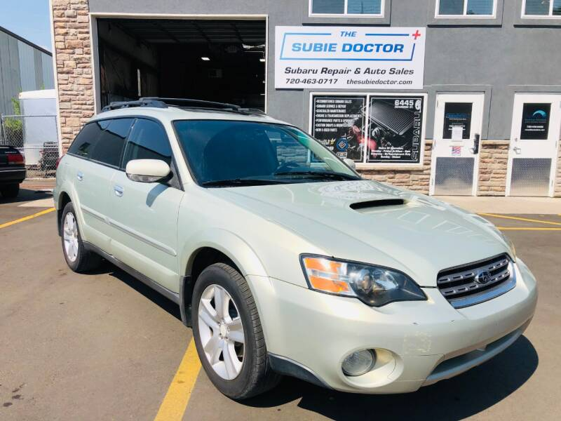 2005 Subaru Outback for sale at The Subie Doctor in Denver CO