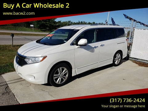 2011 Nissan Quest For Sale In Savage Mn Carsforsale