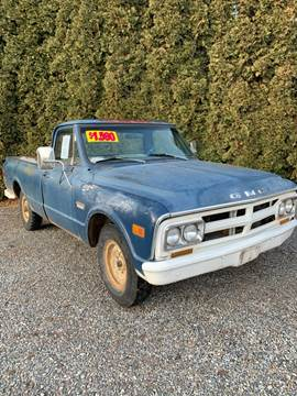 1968 GMC C/K 1500 Series for sale at Big Sky Auto Wholesale in Hayden ID