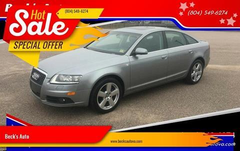 Audi Richmond Va >> Audi For Sale In Richmond Va Beck S Auto
