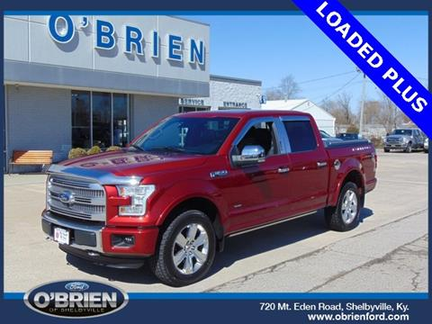 used 2016 ford f 150 for sale in kentucky. Black Bedroom Furniture Sets. Home Design Ideas