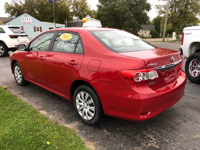 2012 Toyota Corolla For Sale At Grand Blanc Auto Group In Flint MI
