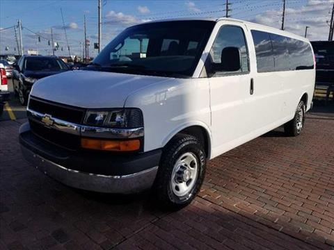 2017 Chevrolet Express Passenger for sale in Homer, LA