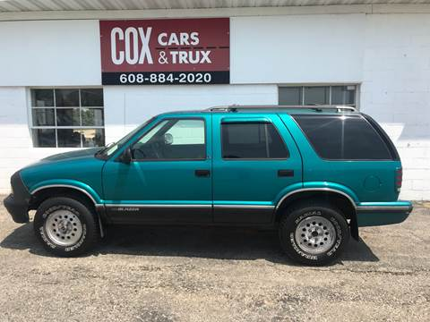 chevrolet blazer for sale in edgerton wi cox cars trux cox cars trux