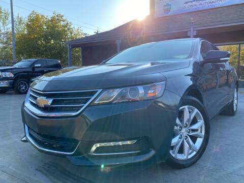 2019 Chevrolet Impala for sale at Global Automotive Imports of Denver in Denver CO