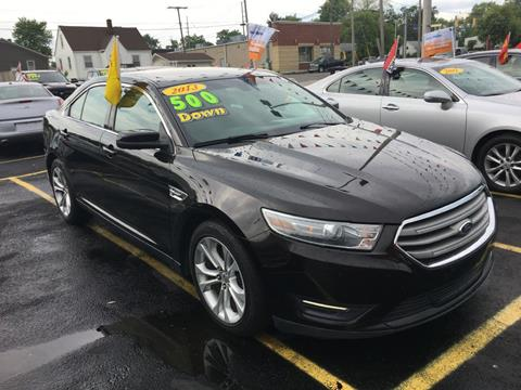 2013 Ford Taurus for sale at Hobart Auto Sales in Hobart IN