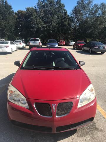 2006 Pontiac G6 for sale at Out Run Automotive Sales and Service Inc in Tampa FL