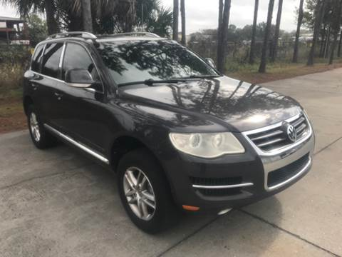 2009 Volkswagen Touareg 2 for sale at Out Run Automotive Sales and Service Inc in Tampa FL