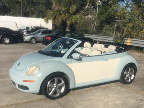 2010 Volkswagen New Beetle for sale at Out Run Automotive Sales and Service Inc in Tampa FL