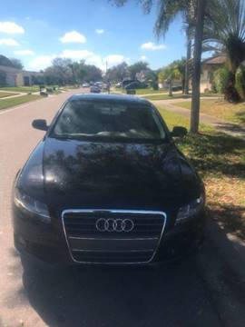 2010 Audi A4 for sale at Out Run Automotive Sales and Service Inc in Tampa FL