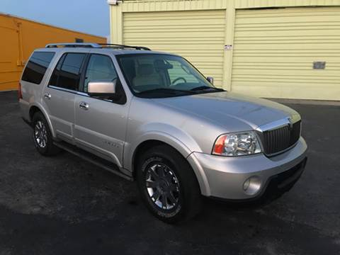 2004 Lincoln Navigator for sale at Out Run Automotive Sales and Service Inc in Tampa FL