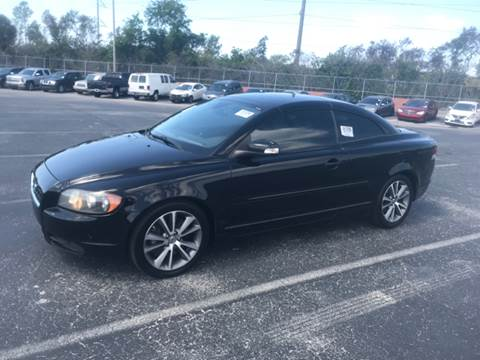 2009 Volvo C70 for sale at Out Run Automotive Sales and Service Inc in Tampa FL