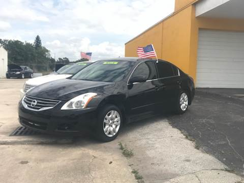 2011 Nissan Altima for sale at Out Run Automotive Sales and Service Inc in Tampa FL