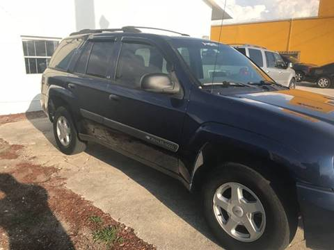 2003 Chevrolet TrailBlazer for sale at Out Run Automotive Sales and Service Inc in Tampa FL