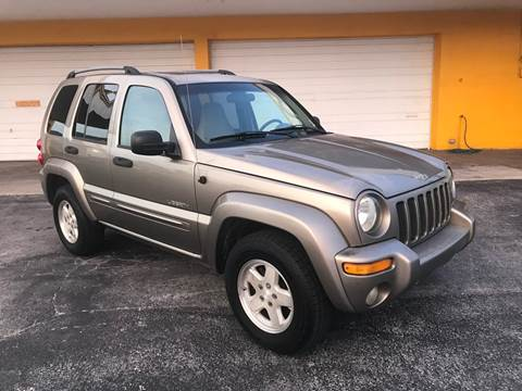 2004 Jeep Liberty for sale at Out Run Automotive Sales and Service Inc in Tampa FL
