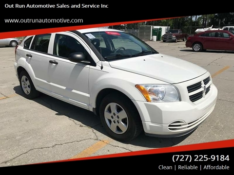 2008 Dodge Caliber for sale at Out Run Automotive Sales and Service Inc in Tampa FL