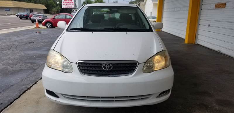 2005 Toyota Corolla For Sale At Out Run Automotive Sales And Service Inc In  Clearwater FL