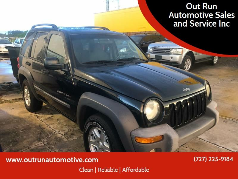 2003 Jeep Liberty For Sale At Out Run Automotive Sales And Service Inc In  Clearwater FL