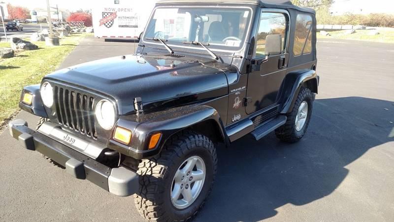 2001 Jeep Wrangler For Sale At Scheareru0027s Sales U0026 Service, Inc In Allentown  PA