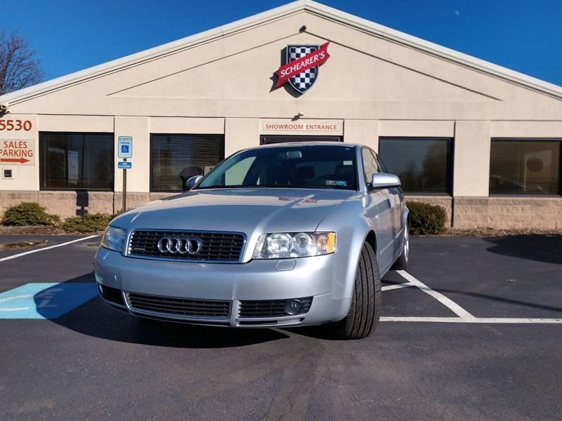Audi A T Quattro In Allentown PA Schearers Sales - Audi a4 2004