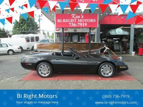 1996 Chevrolet Corvette for sale at Bi Right Motors in Centralia WA