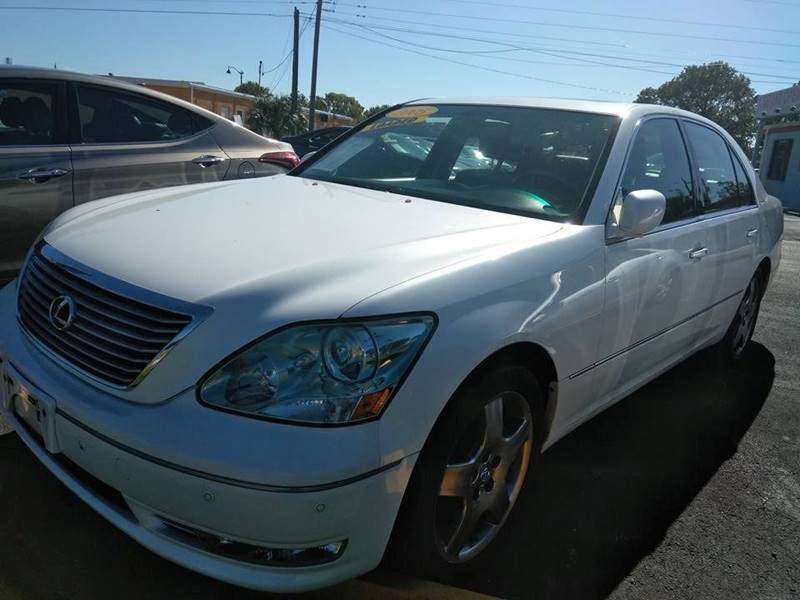 2005 Lexus LS 430 For Sale At Platinum Auto Of Ft. Myers Inc In Fort