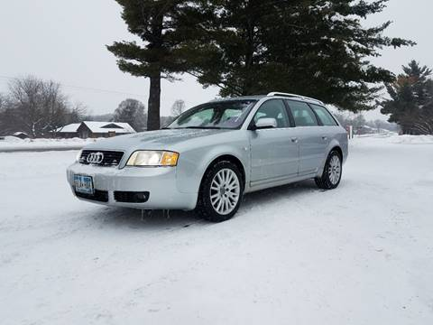 2004 Audi A6 for sale at Shores Auto in Lakeland Shores MN
