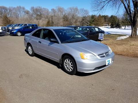 2001 Honda Civic for sale at Shores Auto in Lakeland Shores MN