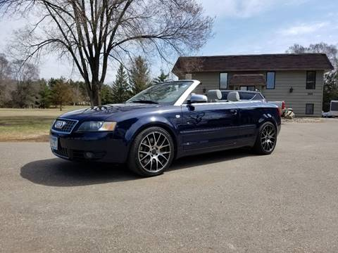 2004 Audi S4 for sale at Shores Auto in Lakeland Shores MN