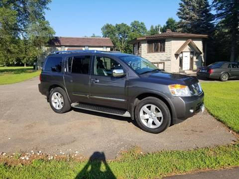 2011 Nissan Armada for sale at Shores Auto in Lakeland Shores MN