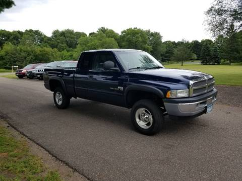 2000 Dodge Ram Pickup 1500 for sale at Shores Auto in Lakeland Shores MN