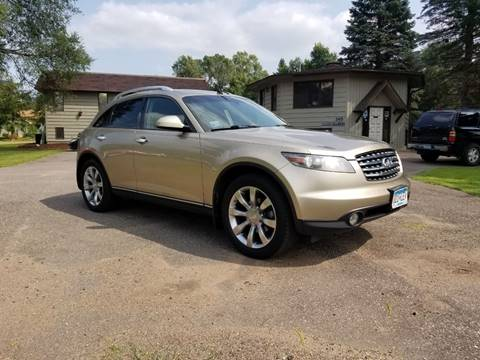 2005 Infiniti FX35 for sale at Shores Auto in Lakeland Shores MN