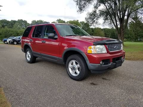 2003 Ford Explorer for sale at Shores Auto in Lakeland Shores MN