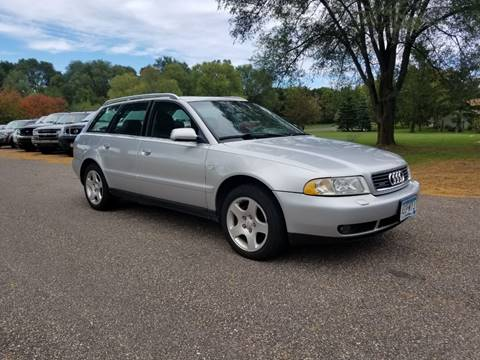 2001 Audi A4 for sale at Shores Auto in Lakeland Shores MN