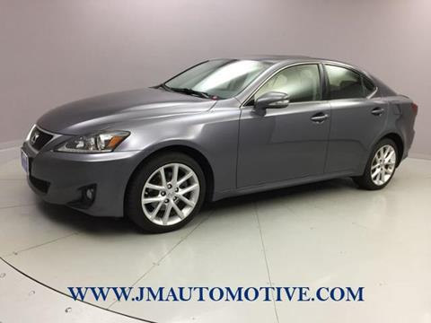 2013 Lexus IS 250 For Sale In Naugatuck, CT