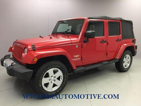 2012 Jeep Wrangler Unlimited for sale in Naugatuck, CT