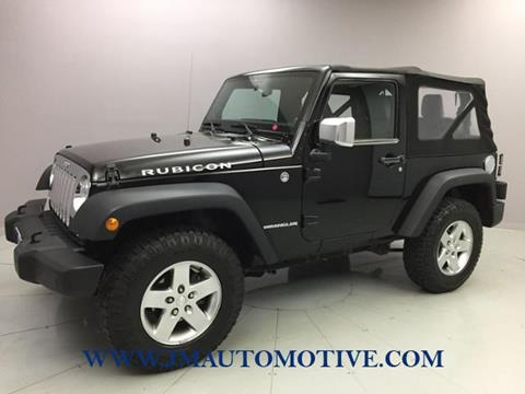 2012 Jeep Wrangler for sale in Naugatuck, CT