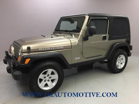 2005 Jeep Wrangler for sale in Naugatuck, CT